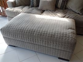 Large ottoman - opens for storage