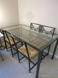 Closer Look At Glass Table And Chairs