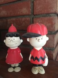 Vintage Charlie Brown and Lucy