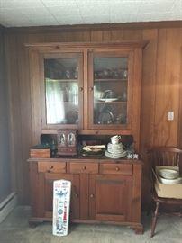 Vintage china hutch