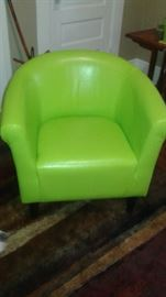 we all need a green chair in our lives!