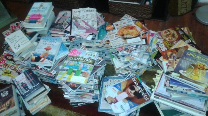 OH Boy, the art teacher liked her magazines!!