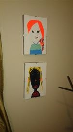 Lots of one of kind art