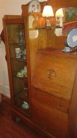 Antique hutch/desk