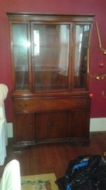 This is part of a beautiful antique  DUNCAN PHYFE 3 piece dining room set.