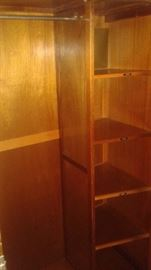 Inside view of the Wardrobe