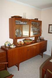 Poul Hundevad Mid century modern Danish teak buffett/sideboard.  Absolutely stunning!!!!  Must see in person.