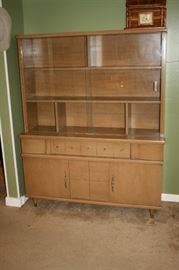 Mid-century china hutch