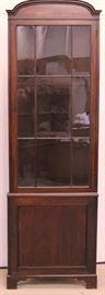 c.1840 victorian XL corner unit
