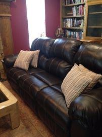Comfortable den sofa