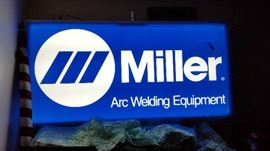 LARGE LIGHTED SIGN