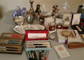 Parker pens, vintage perfume