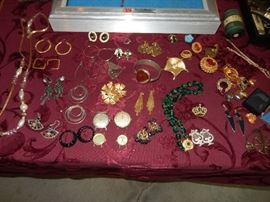 Gold, Sterling and costume Jewelery