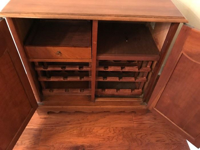 Wine Cabinet Interior