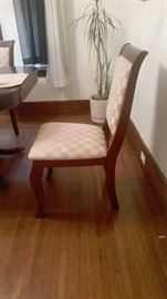 Dining chairs- set of six