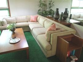 Cream Sectional