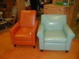 Orange recliner still here