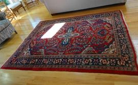 Iranian Sarouk decorative rug - great colors