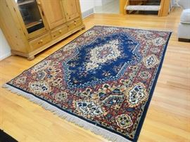 American made oriental style rug - good condition