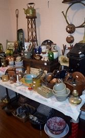 vintage country kitchen items