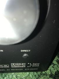 #18 Sony Digital Audio Video control center STR-DG500 $50