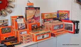 Lionel Train Collection Pre-War to Modern, most with original box.