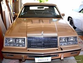 84 Le Baron Convertible Turbo