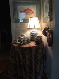 This hand painted china was featured in the magazine Southern Living January 1997