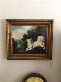 19th Century English dog portrait