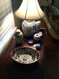 Japanese Imari & various porcelains