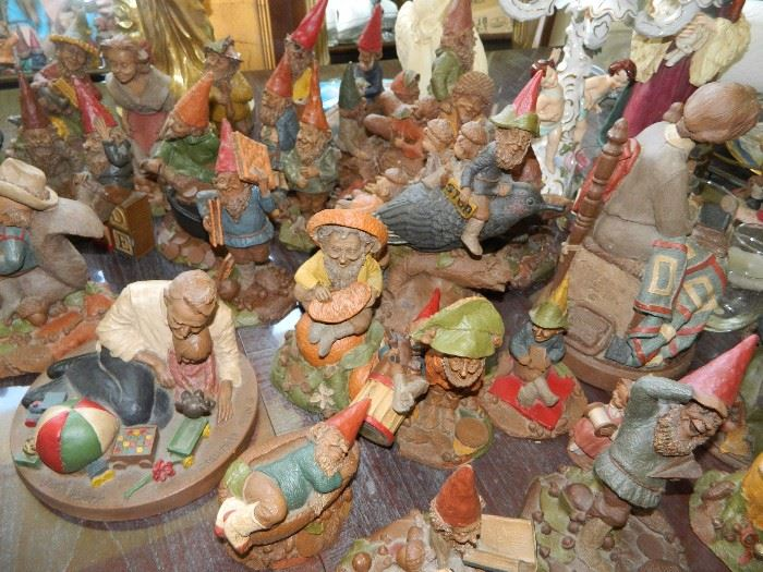 Some of the Tom Clark gnomes