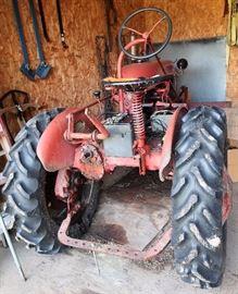 International Harvester Tractor (Model FCUB)