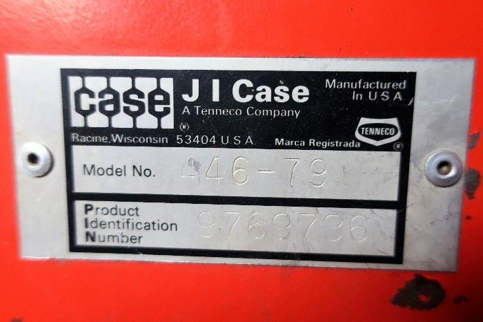 Case Riding Mower (Model # 446-79)