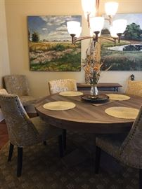 This table and chairs are the perfect size and go with any style!