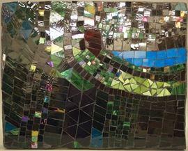 Gerome Kamrowski glass mosaic