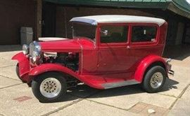 1931 Ford Street Rod with Camero interior seats, Ford Engine and Auto Stick Shift