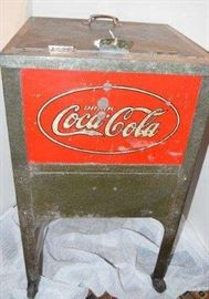 Early 1900's Coca Cola Glascock Cooler