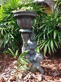 Cast Bronze Garden Statue