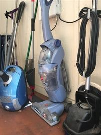 Oreck Commercial Floor Buffer, Hoover Rug Shampoo,  Miele Canister Vacuum