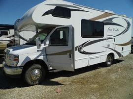 2013 Ford Four Winds 23U Motorhome with in dash upgraded navi, nice spacious floor plan and low miles.  Only approx. 20k miles,