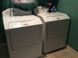 Matching Washer and Dryer, excellent condition