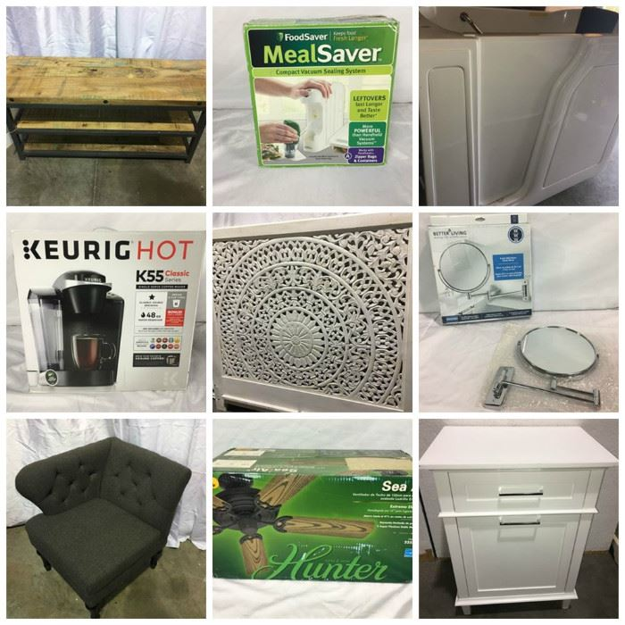 Home Goods Furniture Housewares And Decor Auction Lot S Of Great Furniture Housewares And More