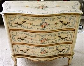 Italian Hand-painted Chest of Drawers