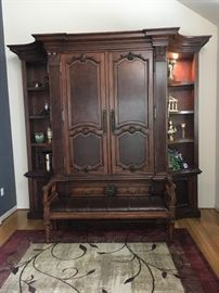 Beautiful Tall armoire