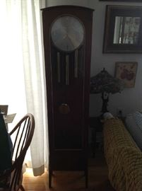 Junghans Urgos Mid Century Grandfather Clock $ 500.00
