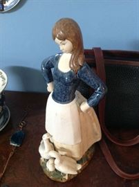 Rex Ceramic Lady / Ducks $ 40.00
