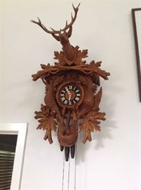 West German Cuckoo Clock $ 80.00