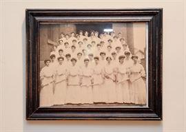 Antique Photo (Women), Framed
