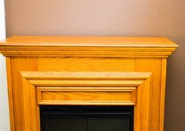 BUY IT NOW!  Lot 102, Electric Fireplace, $180