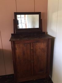 Primitive dresser